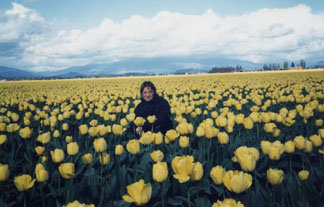 Flowers and Vera in Washington